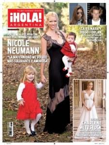 Tapa Hola Nicole Neumann